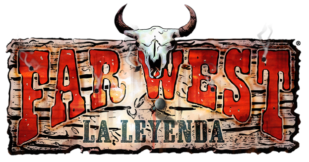 """Logotipo de Far West """"La Leyenda"""""""